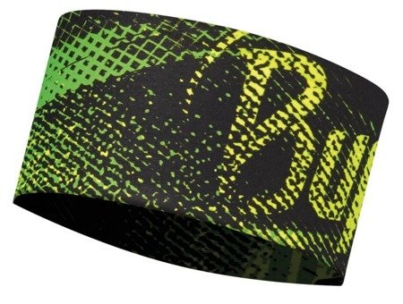 Opaska BUFF UV Headband Flash Logo Yellow