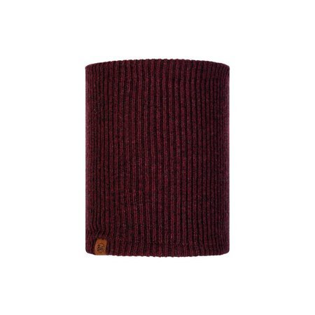 Buff Komin Zimowy Knitted & Fleece Neckwarmer Lyne MAROON