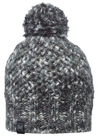 Buff Czapka Knitted Margo Grey