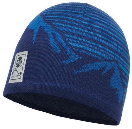 Buff Czapka Knitted Polar Laki Blue Ink