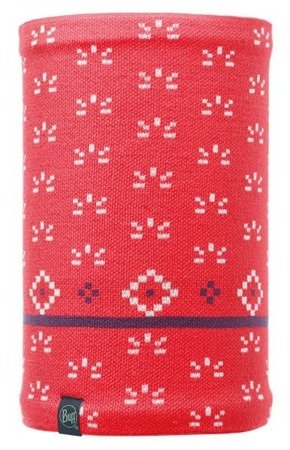 Komin Neckwarmer Buff Knitted Polar Fleece JORDEN CORAL