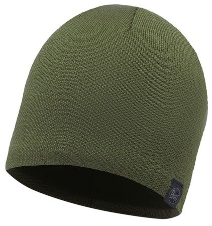 Buff Czapka Knitted & Polar Solid Military