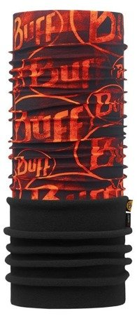 Komin Polar Buff MULTI LOGO ORANGE FLUOR