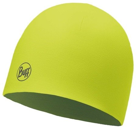 Buff Czapka Thermal Reversible Solid Yellow Fluor