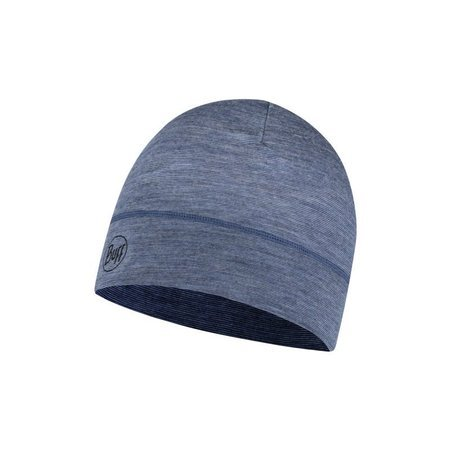Czapka Lightweight Merino Wool Hat Buff LIGHT DENIM MULTI STRIPES