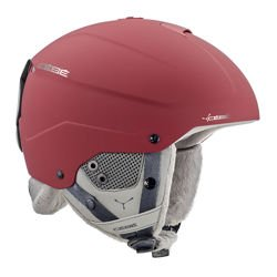Kask narciarski CEBE Element Matt Red Chrome