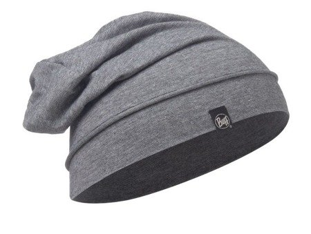 Czapka Cotton Hat Buff Grey Stripes
