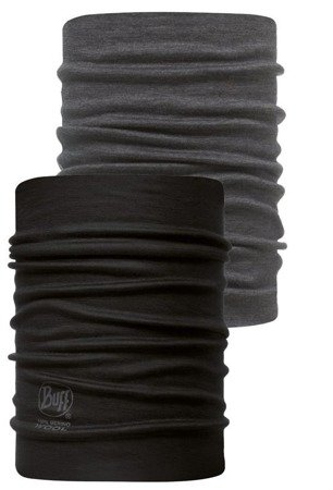 Komin Neckwarmer Buff® Wool Black