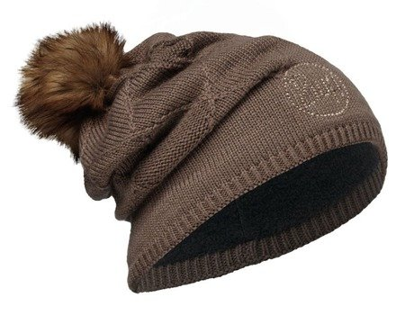 Czapka Buff Knitted & Polar Stella Brown Chic