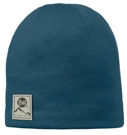 Czapka Knitted & Polar Buff Solid Ocean