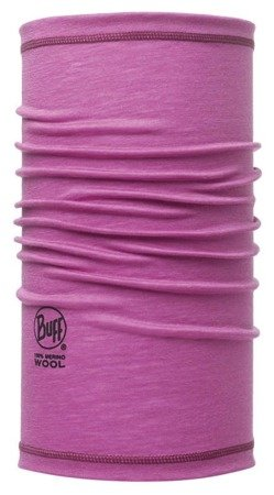 Chusta Buff 3/4 Merino Wool Buff SOLID RASPBERRY