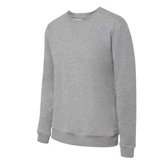 SWEATSHIRT GREG LIGHT GREY MEL ANGE M -LIGHT GREY-M